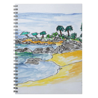 Isolella Beach, Ajaccio | Corsica, France Notebooks