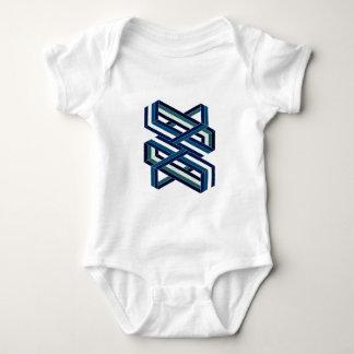 Isometric Shape Baby Bodysuit