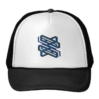 Isometric Shape Trucker Hat