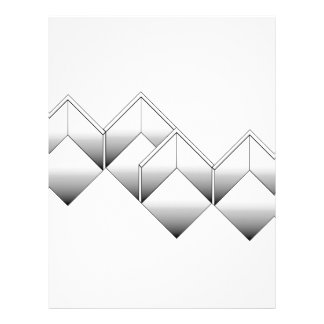 Isometry of space custom letterhead