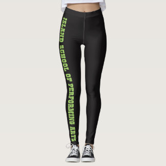 ISPA GREEN LEGGINS LEGGINGS