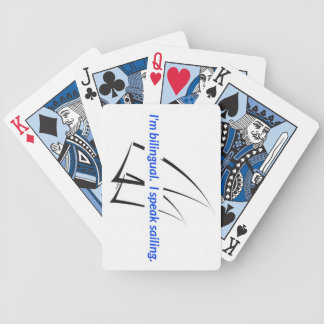 """iSpeakSailing """"Bilingual"""" Playing Cards"""