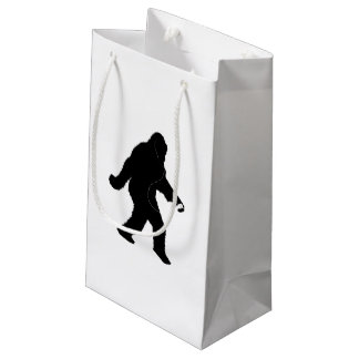 iSquatch ( Customize Background Color) Small Gift Bag
