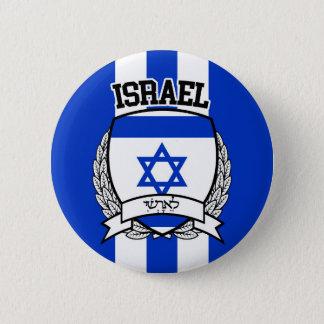 Israel 2 Inch Round Button