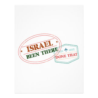 Israel Been There Done That Letterhead