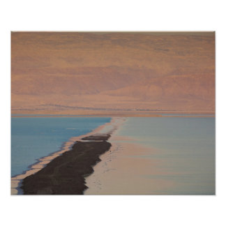 Israel, Dead Sea, Ein Bokek, Dead Sea, dusk 2 Poster