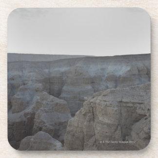Israel, Dead Sea, rock formations Drink Coasters