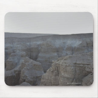 Israel, Dead Sea, rock formations Mouse Pad