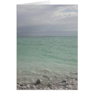 Israel, Dead Sea, seascape Greeting Card