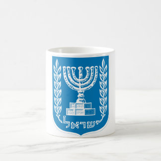 israel emblem coffee mug
