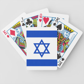 Israel Flag Bicycle Playing Cards