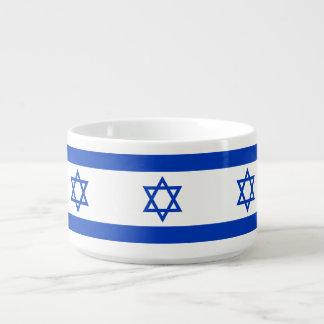 Israel Flag Bowl