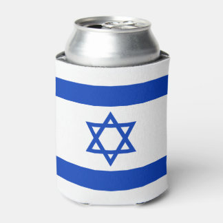 Israel Flag Can Cooler
