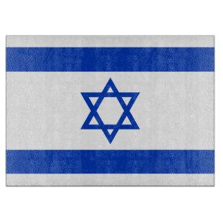 Israel Flag Cutting Board
