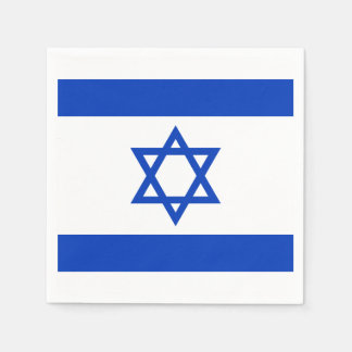 Israel Flag Disposable Napkin
