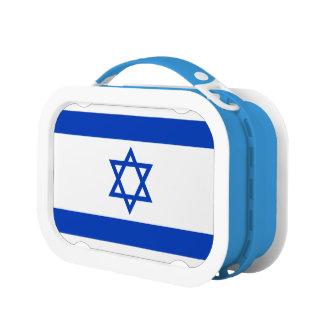 Israel Flag Lunch Box
