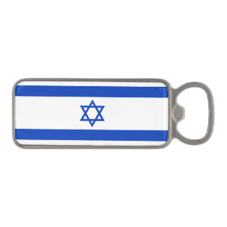 Israel Flag Magnetic Bottle Opener