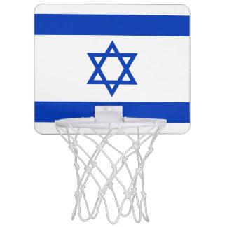Israel Flag Mini Basketball Hoop