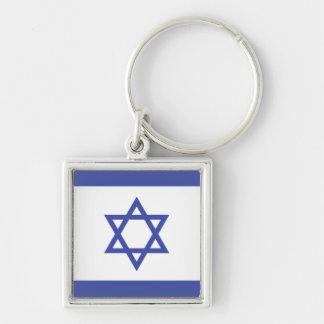 ISRAEL: Flag of Israel Keychain