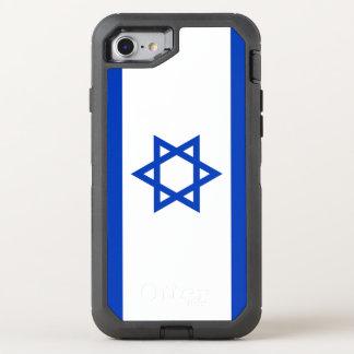 Israel Flag OtterBox Defender iPhone 8/7 Case