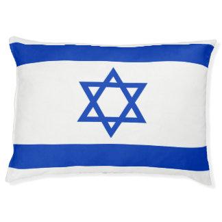Israel Flag Pet Bed