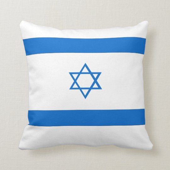 Israel Flag Pillow