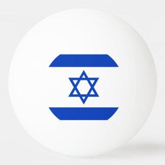 Israel Flag Ping Pong Ball