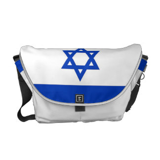 Israel Flag Rickshaw Messenger Bag