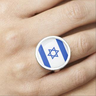 Israel Flag Ring