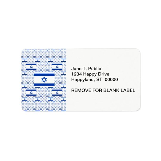 Israel Flag - Star of David -  in Layers