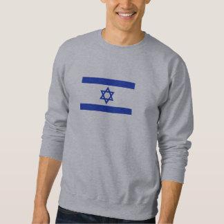 Israel flag sweatshirt
