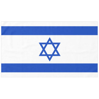 Israel Flag Tablecloth