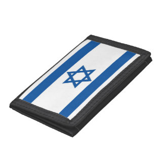 Israel Flag Trifold Wallet