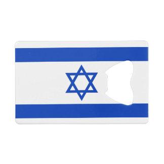 Israel Flag Wallet Bottle Opener