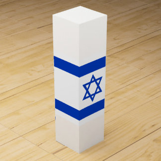 Israel Flag Wine Gift Box