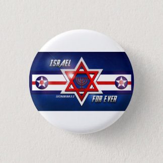 Israel Is For Ever Button