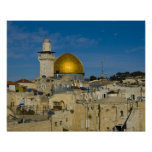 Israel, Jerusalem, Dome of the Rock Poster