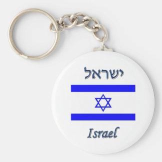 Israel Keychain