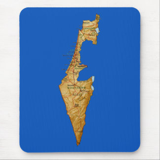 Israel Map Mousepad