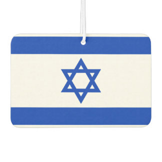 Israel National World Flag Car Air Freshener