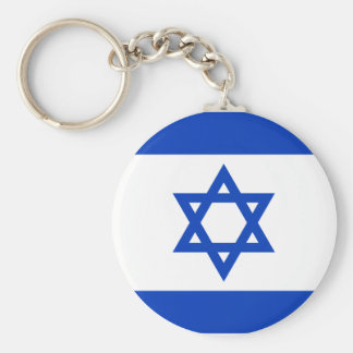 Israel National World Flag Keychain