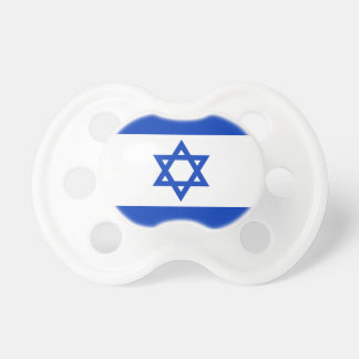 Israel National World Flag Pacifier