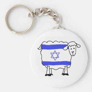 Israel Sheep Nation Keychain