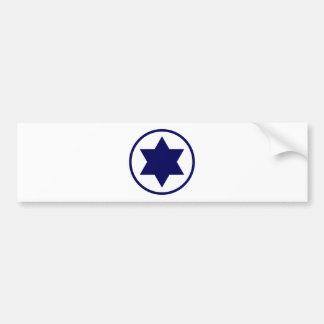 Israel Star of David Bumper Sticker
