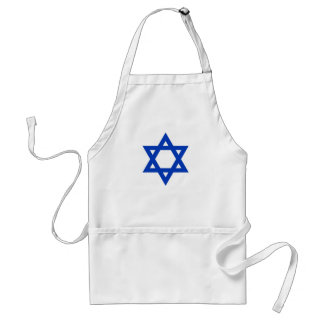 Israel Star of David Standard Apron