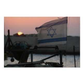 Israel Sunset Poster