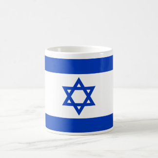 Israel World Flag Classic White Coffee Mug