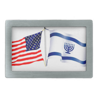 Israeli American flag collection Belt Buckles