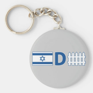 Israeli Defense Keychain