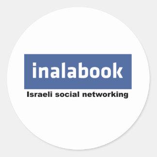 israeli facebook - inalabook stickers
